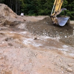 Making 1 foot lifts for foundations