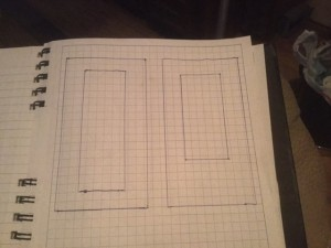 Trying to visualize and plan for door glass.